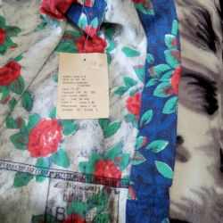 Flannel dress from the USSR