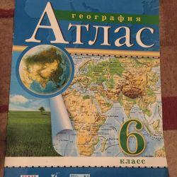 Атлас по географии 6 и 7 класс
