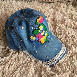 Yeni denim şapka