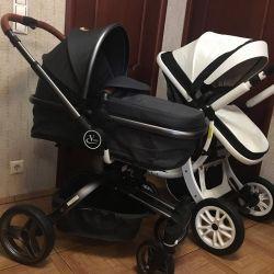 Новые модульные коляски 2 в 1 с Рождения
