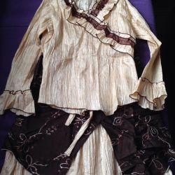 Костюм блузка+ юбка
