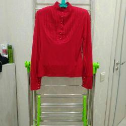 κομψή γυναικεία μπλούζα, μέγεθος 46-48