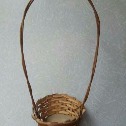 Straw Basket Pots
