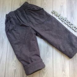 Pants demi-season new
