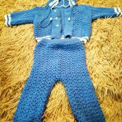 Knit κοστούμι