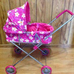 Big Stroller for dolls new