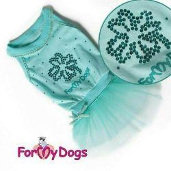 Φόρεμα με τούλι. φούστα (ρούχα για σκύλους)