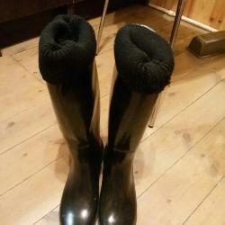 Γυναικείες μπότες καουτσούκ