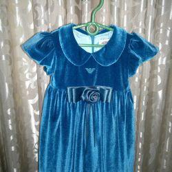 Dress velor Armani junior 1 year elegant
