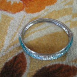 Βραχιόλι τυρκουάζ και δαχτυλίδι