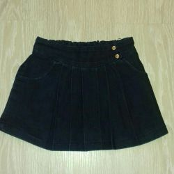 Denim skirt 116-122