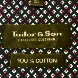 Tailor & Son shirt new