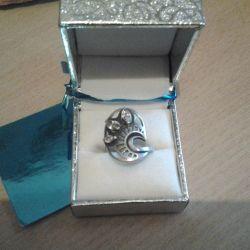 Кільце срібло 925