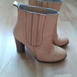 Zara μπότες, φυσικό μαλακό δέρμα