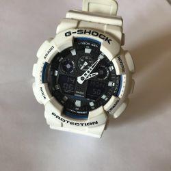 Casio g-shock ga-100b white