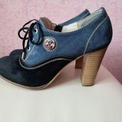 Shoes nat. skin r. 35