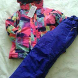 Yeni bir! Kış membran takım elbise genç