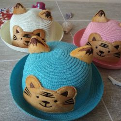 Hat with ears cat