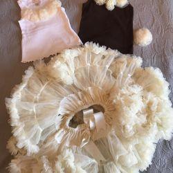 Oopsy Daisy baby fluffy skirt