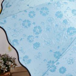 Новый волшебный зонт, проявляются, цветы