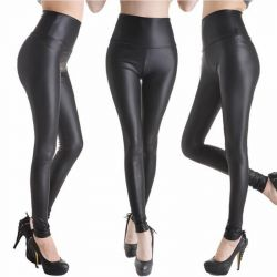 New matte leather leggings XS-S