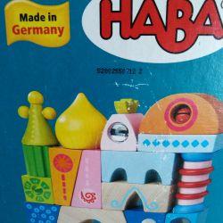 Wooden German cubes HABA