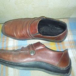 Leather boots crazy p 38 used