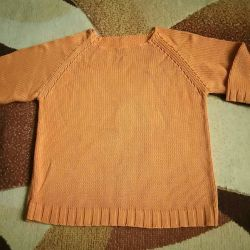Cotton jumper p.42-46 bright oranzh.