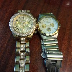 Rolex and Omega Watches