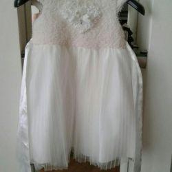 Κομψό κορίτσι φόρεμα 90/52 3 έτη