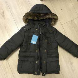 Yeni yalıtımlı ceket, 80-92cm