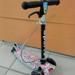 Scooter with music and lighting in stock