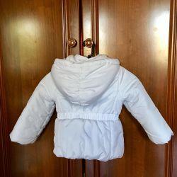 Jachetă în jos pentru fată