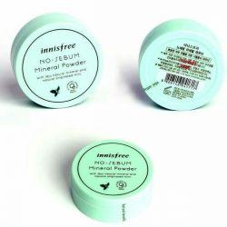 Yağlı ciltler için mineral tozu Innisfree (Kore