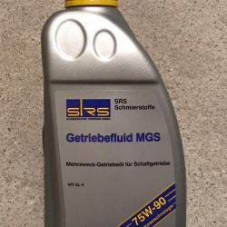 SRS Getriebefluid MGS 75W-90 GL-4, HGS GL-5 1L