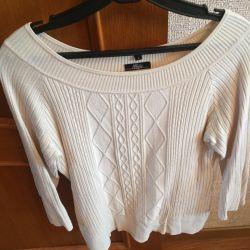 Blouse - blouse knitwear beige 44-48 size