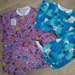 Pijamalele încălzite pentru copii noi