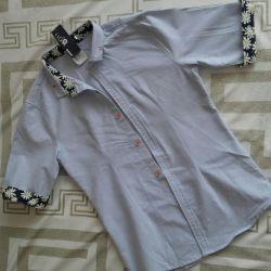 New shirt 44 short sleeves