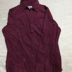 Рубашка MARCO PECCI женская вельвет