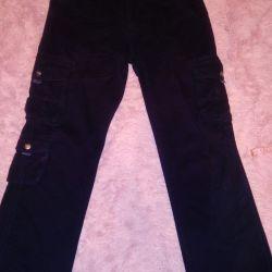Pantaloni de jeans cu buzunare54-56r