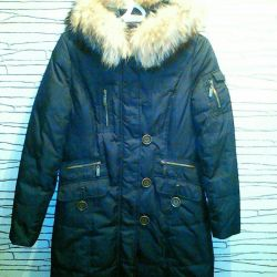 Куртка- пальто женская зимняя