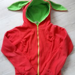 bright jacket with ears