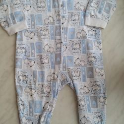 Пижамка-слип Лео