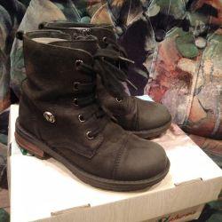 Δερμάτινες μπότες Naturino