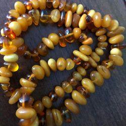Boncuk amber vintage