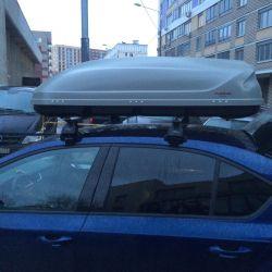 Arabanın çatısına boks