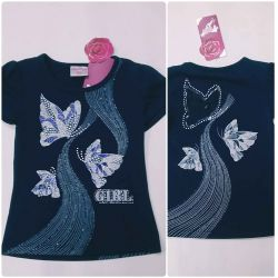 T-shirt for girls with short sleeves