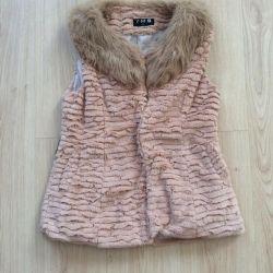 Fur vest new