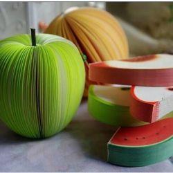 Notepad fruit