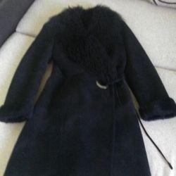 Επείγουσα παλτό από δέρμα προβάτου